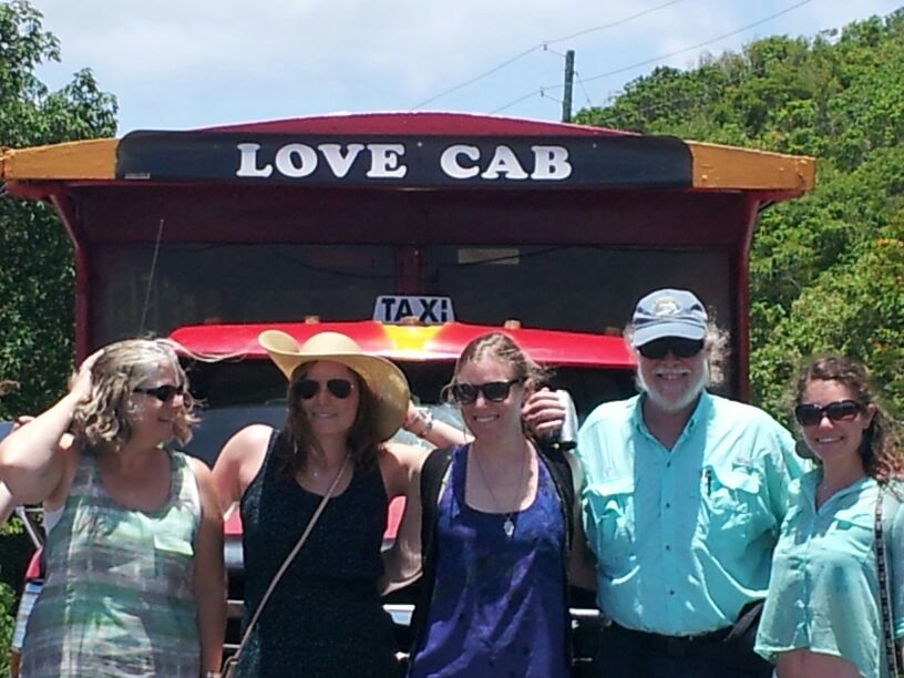 St thomas taxi love cab tours